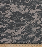 Digital Camo Twill Green Nylon Cotton Camouflage Fabric By the Yard (BF0352-991)