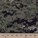 Digital Camo Camouflage Ripstop Military Fabric By the Yard (ripstop-digital)