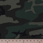 Water Repellent Woodland Camouflage Flag Sport Nylon Camo Fabric By the Yard (2406H-5N)