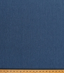 Brushed Hug Bunny Denim Blue Pre-washed Colorfast Made in USA Cotton Poly Fabric By the Yard (3306Z-11N)