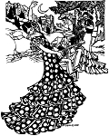 Folkwear Flamenco Dance Dress and Practice Skirt Spanish Mexican Dancer #140 Sewing Pattern (Pattern Only)