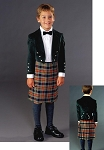 Folkwear Child's Scottish Kilt & Jacket Children's Kids #154 Sewing Pattern (Pattern Only)