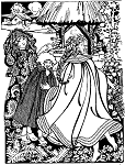 Folkwear Kinsale Cloak for Young Maidens #208 Girls Cape Reproduction Sewing Pattern (Pattern Only) folkwear208