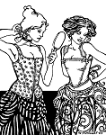 Folkwear #267 M'Lady's Corset Vest 16th Century Undergarment Sewing Pattern (Pattern Only)