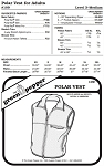 Adult's Polar Vest #109 Sewing Pattern (Pattern Only)