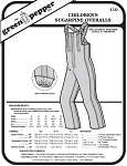 Children's Sugarpine Overalls Snow Pants Coveralls #110 Sewing Pattern (Pattern Only)