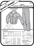 Men's Chinook Wind and Rain Suit Coat Jacket Pants #132 Sewing Pattern (Pattern Only)