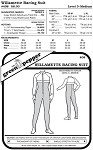 Willamette Racing Running Sport Suit  #408 Sewing Pattern (Pattern Only)