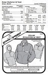 Adult's Polar Pullover & Vest Jacket Coat Outerwear #512 Sewing Pattern (Pattern Only)