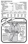 Silver Falls Raincoat #539 Sewing Pattern (Pattern Only)