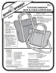 Cougar Springs Hot & Cold Lunch Bag Pack Tote #561 Sewing Pattern (Pattern Only)