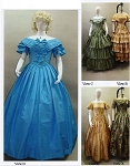 Ladies Ball Gown 1840-1863 Sewing Pattern #117 (Pattern Only)