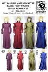 Ladies Pelisse Coat & Spencer Jacket c.1810-1825 Sewing Pattern #137 (Pattern Only)
