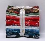 18 Fat Quarters - Artisan Batiks: NOEL - RK Metallic Christmas Holiday Winter Stash Building Quilter's Fat Quarter Bundle (FQ-1083-18) M208.24