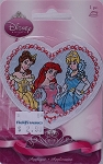 Wrights Disney Princesses Belle Ariel Cinderella Iron-On Applique Badge Appliques 3W x 2.75H inches (M211.02)