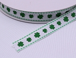 Shamrock Grosgrain Ribbon - 5/8