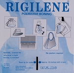 Rigilene Black Polyester 12mm Corset Boning By the Yard (M222.06)