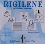 Rigilene White Polyester 12mm Corset Boning By the Yard (M222.07)