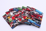 FAT QUARTER - Cotton Ford Mustang Packed A/O CTN Cars Vehicles Quality Quilters Cotton Fabric (M226.10)