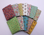 10 Fat Quarters - Assorted Blecker Street Flowers Floral Calico Blenders Stash Building Quilters Cotton Bundle M227.08