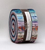 Jelly Roll: Artisan Batiks: Arboretum Complete Collection By Lunn Studios for Robert Kaufman 2.5