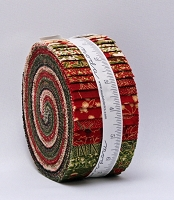 Jelly Roll - Gilded Greenery Metallic Christmas Holiday Festive Winter 2.5