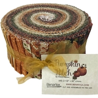 Jelly Roll -  Pumpkin Patch Autumn Fall Thanksgiving Cheryl Haynes 2.5
