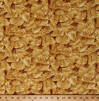 Cotton Tortilla Chips Corn Chips Mexican Food Snacks Yellow Cotton Fabric Print by the Yard (GM-C1842-TAN)