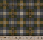 Cotton Jo Morton Charleston Green Plaid Civil War Reproduction Cotton Fabric Print by the Yard (7471-YG)