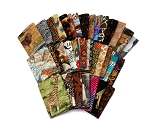 10 Fat Quarters - Africa African Animals Lions Giraffe Zebra Rhino Geometric Tribal Prints Assorted Quality Quilters Cotton Fabric (M226.06)