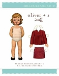Oliver + S - Sewing Pattern Girls Sunday Brunch Jacket Coat and A-line Skirt Kids Children Sizes 6M-3T (Oliver+S-OS00-9SB1)