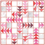 Quilt Kit - Red Geese 65