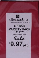 Ultrasuede® LT (Light) 6 Piece Variety Pack - Assorted 5