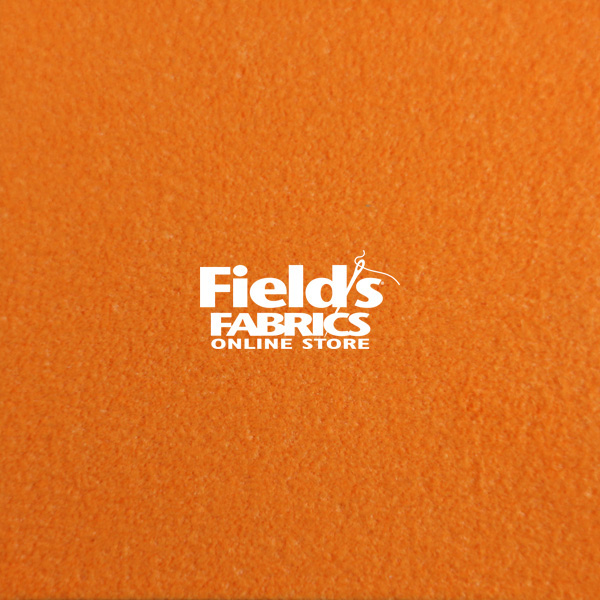 Ultrasuede® ST (Soft) #8169 Carrot Custom Color Fabric by the Yard