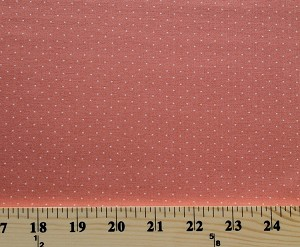Cotton Moda Mirabelle Fig Tree Quilts Mini Dot Persimmon Cotton Fabric Print by the Yard (20228-17)