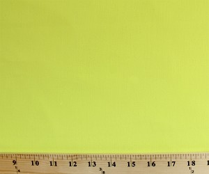 "Broadcloth Almost Neon Bright Yellow 64"" Wide Fabric by the Yard (7618h-12l)"