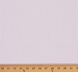 Lightweight Krinkled Cotton Linen-Look White Fabric Print by the Yard (8646P-5M)