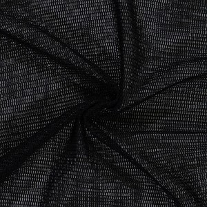 "Heavy Sturdy Flexible Strong Mesh Polyester 60"" Wide Fabric by the Yard - Black (8826H-6M)"