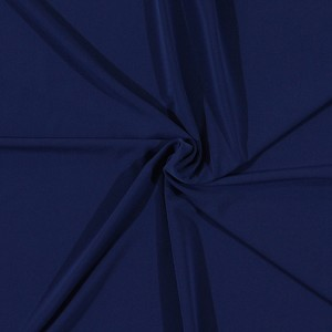 Matte' Jersey Solid Royal Blue Polyester Blend Fabric by the Yard (9098R-7M)