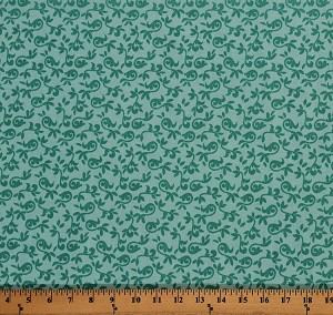 Cotton Halle Rose Small Floral Cotton Fabric Print by the Yard C4184