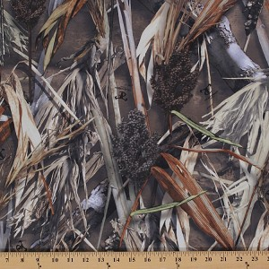 True Timber Cattails DRT Camouflage Camo Twill Fabric By the Yard (6061)