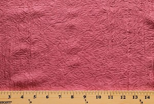 "112"" Extrawide Krinkle Semi-Sheer Polyester Blush Pink Fabric by the Yard A107.03"