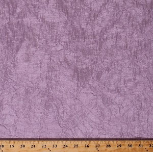 "Crushed Crinkled Lilac Purple Slight Sheen 52"" Wide Polyester Decorator Fabric by the Yard (A107.05)"