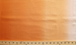 Cotton Orange Ombre Gradual Shades of Orange Shading Blending Cotton Fabric Print by the Yard (c300-60-orange)