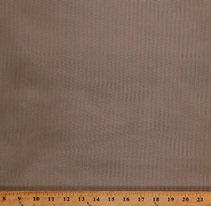 "70"" Mosquito Netting Tan Nylon Mesh Fabric By the Yard (4386F-7A)"