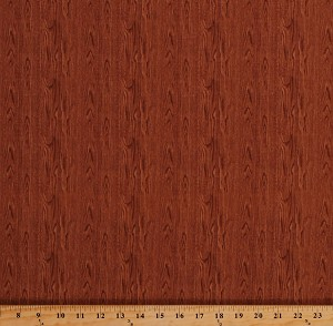 Cotton Barn Wood Grain Wooden Boards Floorboards Planks Timber Lumber Building Wall Carpenter Carpentry Landscape Medley Brown Cotton Fabric Print by the Yard (481BROWN)