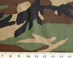 "60"" Camouflage Camo Bottom Weight Cotton/Blend Twill Fabric Print by the Yard (z-9h)"