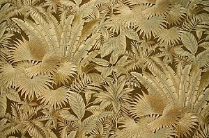 "54"" Tommy Bahama® Bahamian Breeze Coffee Bean Palm Trees Fronds Large-Scale Leaves Tropical Jungle Lanai Botanical Brown Indoor/Outdoor Fabric by the Yard (800050)"