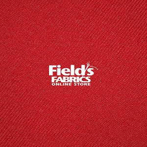 "L35 Easy Care Gabardine WG0004-592 Red 58"" Wide Polyester Fabric - Red"