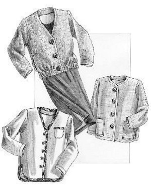 Great Copy 1265 All Season Jacket and Soft Gathered Skirt Sewing Pattern (Pattern Only)